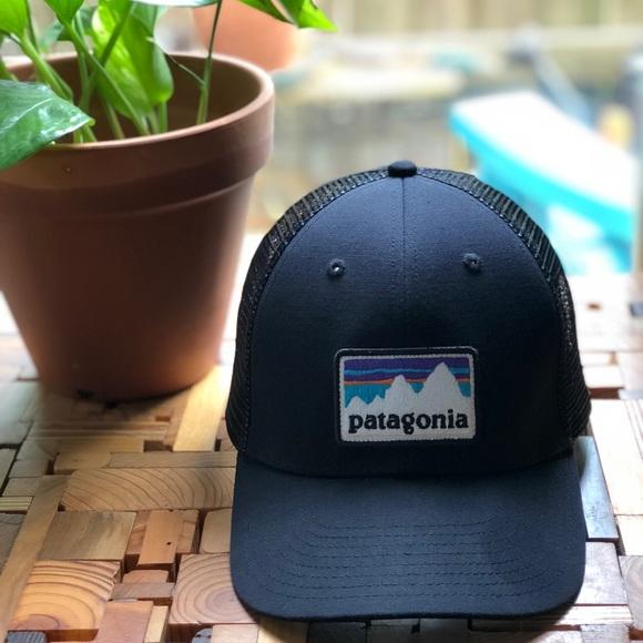05fc4cc13f3e60 Patagonia Accessories | Nwot Sticker Patch Lopro Trucker Hat | Poshmark
